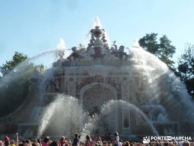 Pesquerías Reales y Fuentes de La Granja;excursiones en grupo madrid alrededores excursiones